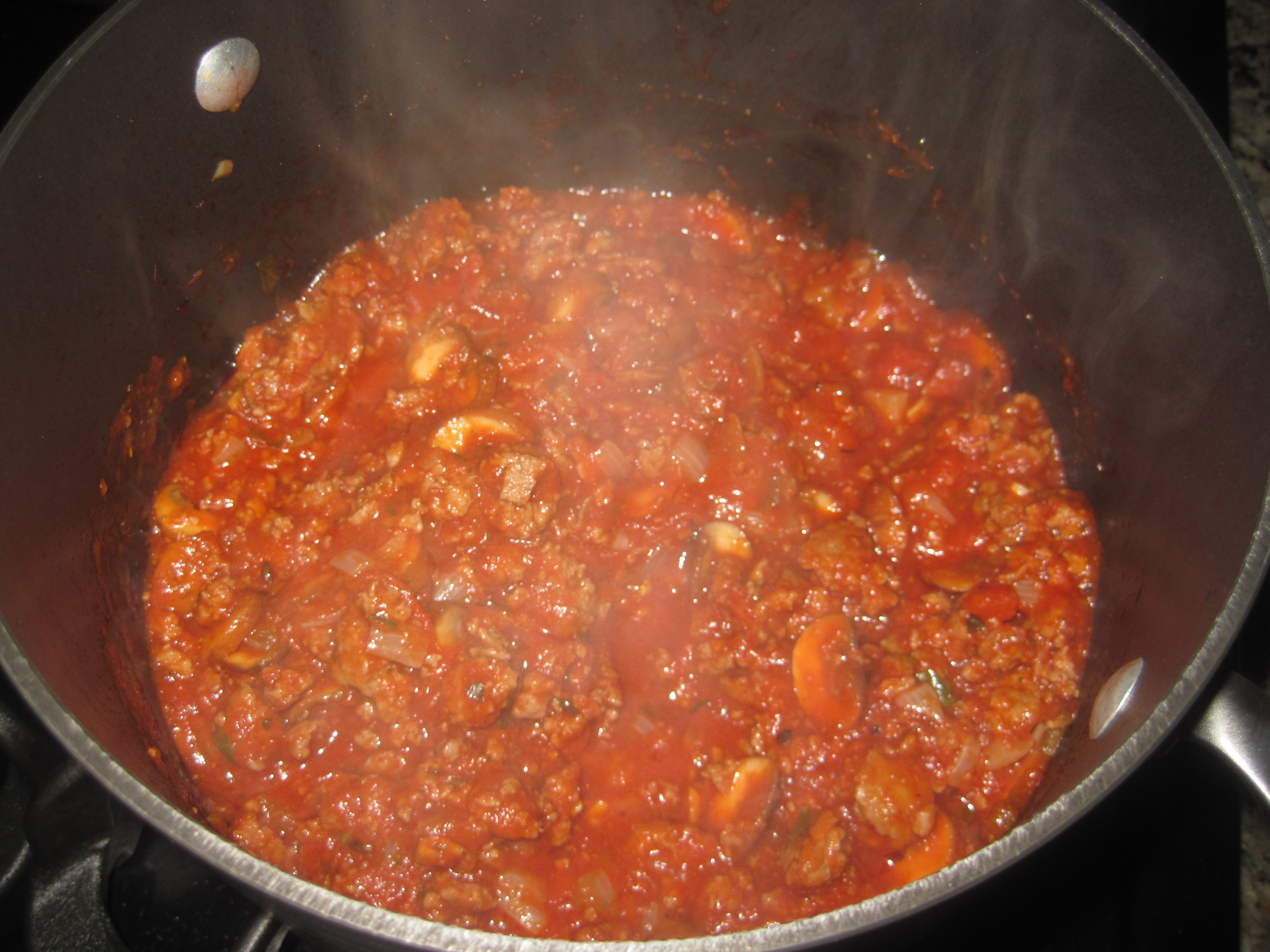 Marinara sauce is so yummy. This is my go to sauce when I need to just ...